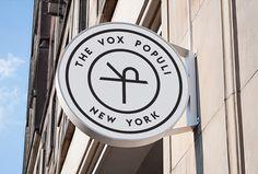 The Vox Populi by Sam Curtis #logo #circle #mark #symbol #sign