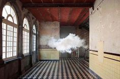 CJWHO ™ (Artist Berndnaut Smilde Creates Amazing Indoor...) #clouds #smoke #frozen #installation #design #interiors #photography #art