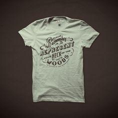 NeckOfTheWoods1.jpg (700×700) #pride #print #shirt #vintage #type #local #typography