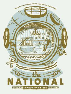 The National #diver #helmet #the #illustration #national
