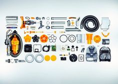 dyson #inspiration #creative #knolling #examples #photography #knoll #organization