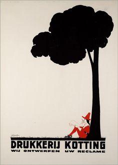 Twenty two posters by Charles Verschuuren   50 Watts