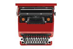 Olivetti Valentine portable typewriter #product #typewriter