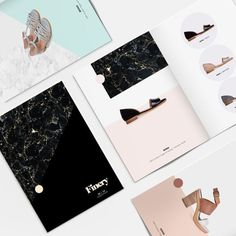 Finery Lookbook by www.vanessavanselow.com #lookbook #layout #design #fashion #typography #minimal