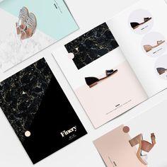 Finery Lookbook by www.vanessavanselow.com #lookbook #design #minimal #fashion #layout #typography