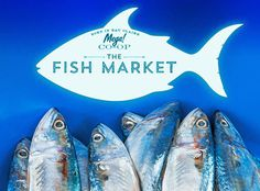 Fish Market for Mega rebrand #branding #packaging #design #food #brand #identity #logo #gourmet #typography
