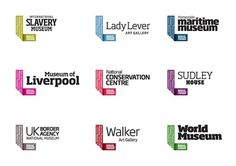 New Work: National Museums Liverpool | New at Pentagram | Pentagram #logo #branding