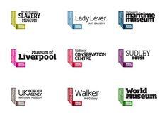 New Work: National Museums Liverpool | New at Pentagram | Pentagram #logo #branding