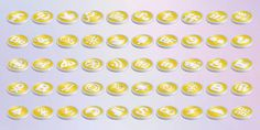 Free Creative Coins Style Social Medial Icons