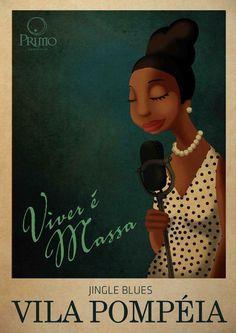 Poster on Illustration Served