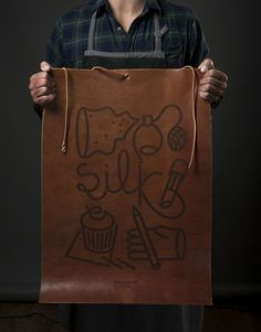 Qu'on #poster #leather #branding
