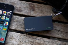 Lightning Power Reserve Keychain Battery by Mophie #tech #flow #gadget #gift #ideas #cool
