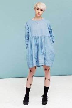 Angel Dress Denim