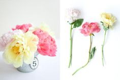 http://www.oncewed.com/wp content/uploads/2009/07/wedding peonies1.jpg #flowers