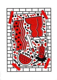 risograph poster http://giuseppedicarlo.tumblr.com #risograph #poster #risoprint #print
