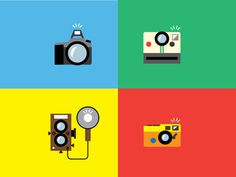 Oh Snap! by Alexander Ramsey #flat #illustration #colour #icons