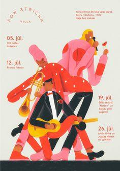 Fon Stricka Villa Poster Design