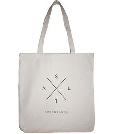 SALT SURF — Salt X Tote - Natural #logo