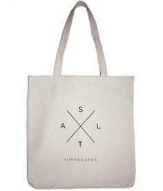 SALT SURF — Salt X Tote - Natural #logo