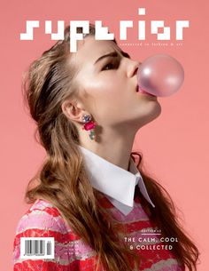 Superior (Berlin, Allemagne / Germany) #graphic design #cover #magazine #editorial design #magazine cover