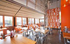 Big Orange on Behance #interior