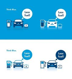 Volkswagen - Studio Intraligi #simple #pictogram #icon