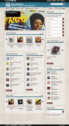 Mr Bongo E-Commerce Website