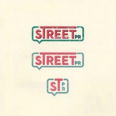 Street - Public Relations #branding #retro #brand #identity #vintage #logo
