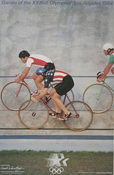 1984 LAOOC Official Poster | Flickr - Photo Sharing! #poster #olympics #cycling #1984