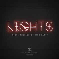 Steve Angello - Lights / Album Cover #album art cover
