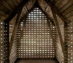 magical little shed in hungary by NARTARCHITECTS #light
