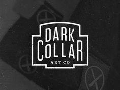 Dribbble - Dark Collar Art Co. by Brandon Rike