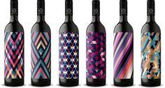 motif8 #packaging #pattern #geometric #wine