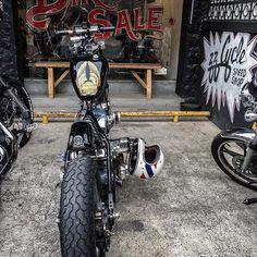 Skinny Bitch 📸 @dcampello #BobberLife Bobber Chopper Harley Davidson Motorcycle Lifestyle Custom Culture