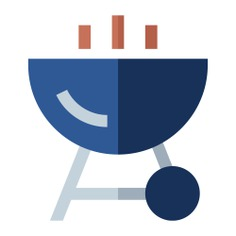 See more icon inspiration related to grill, food and restaurant, Tools and utensils, bbq, cooking equipment and barbecue on Flaticon.