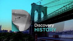 Discovery History brand on the Behance Network #identity #design #graphic #branding