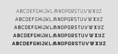 Terzo v2 - Font family on Behance