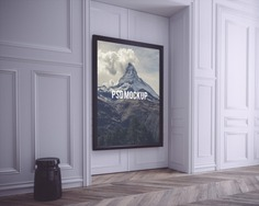 Black frame on white wall mock up Free Psd. See more inspiration related to Frame, Mockup, Template, Black, Web, Website, Wall, White, Mock up, Picture frame, Templates, Website template, Picture, Mockups, Up, Web template, Realistic, Real, Web templates, Mock ups, Mock and Ups on Freepik.