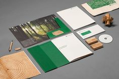 HEYDAYS – Recent Projects Special | September Industry #wood #design #identity #green