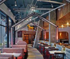Playful and Artistic Restaurant Decor