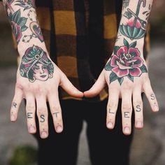 REST LESS #tattoo #ink #body #art