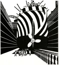 FFFFOUND! | Edward Wadsworth - Google Images #ships #dazzle