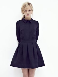 black #fashion #dress #black