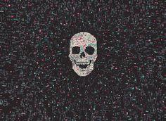 Hollis Brown Thornton | Art Sponge #marker #thornton #illustration #brown #hollis #skull #permanent