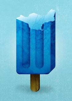 lovely and serene things / Popsicle #ice #illustration #design #popsicle