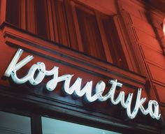 Vintage Neon Signage In Warsaw The marks ofan... | Escape Kit #signage