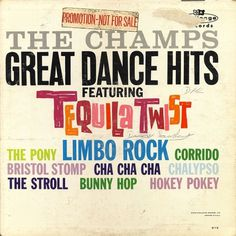 All sizes | Champs - Great Dance Hits | Flickr - Photo Sharing! #album #record #cover #1960s #illustration #artwork