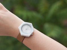 Geometric Marble Watch