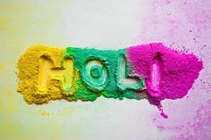 Holi #text #gallery #festival #infected #holi #colours #indian #dry