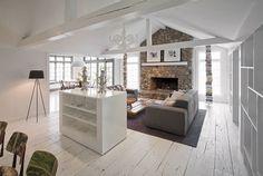 The Wilton Residence by UXUS Design | Yatzer™ #interior #white #design #books #architecture